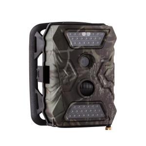 GRIZZLY Mini Wildkamera 40 Black LEDs 12 MP Full HD USB SD Batteriepack