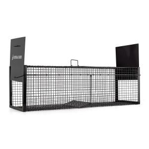 Catch&Carry XL Marderfalle 30x30x100cm Lebendfalle 2mm Stahl schwarz