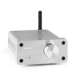 BT-Bro Mini-Stereo-Verstärker Class-D Bluetooth Aluminium silber Silber
