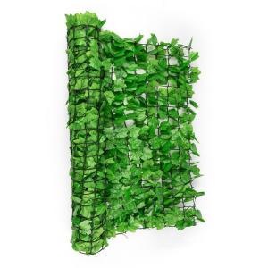 Fency Bright Ivy Sichtschutzzaun Windschutz 300x100 cm Efeu hellgrün