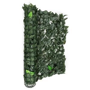 Fency Dark Leaf Sichtschutzzaun Windschutz 300x150 cm dunkelgrün Mix