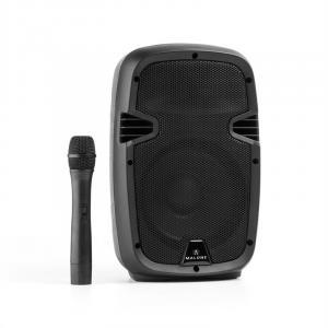 "Bushfunk 20 Aktiv-PA-Lautsprecher 400W Bluetooth Akku USB SD MP3 VHF 20 cm (8"")"