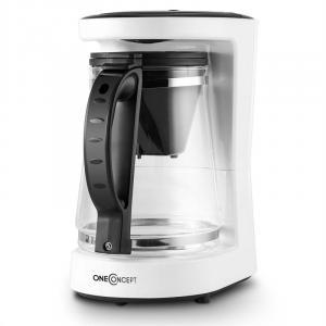 Coffee & Tea Kaffeemaschine Teebereiter 680W 10 Tassen weiß