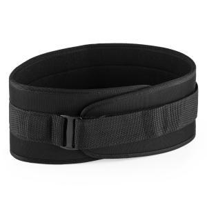 Rugg Gewichthebegürtel Klettverschluss ultraleicht Gr. XL schwarz XL