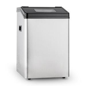Powericer ECO 4 Eiswürfelmaschine Eiswürfelbereiter Eismaschine 450W 40 kg/Tag Edelstahl 8 kg