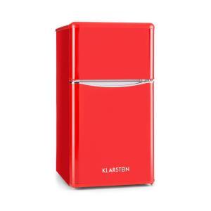 Monroe Red Kühl- & Gefrierkombination 61/24 l A+ Retrolook Rot Rot