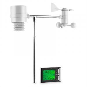 Montgolfier Wetterstation Funk 100m LCD-Display