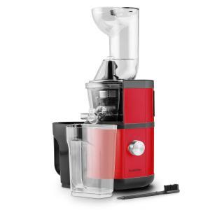 Fruitberry Slow Juicer 400W 60U/min Einfüllrohr Ø 8,5cm Edelstahl rot Rot