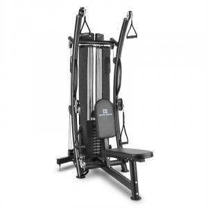 Puissantor B15 Multi HomeGym Kabeltrainer schwarz 150 lb Stahl