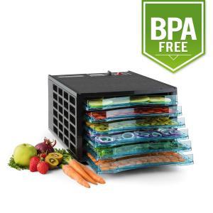 Fruit Jerky 6 Dörrautomat Dehydrator 630W 6 Etagen BPA-frei 6 Etagen
