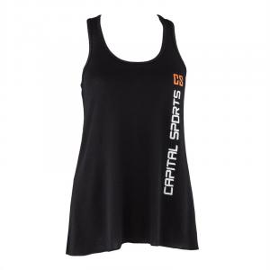 Trainings-Top für Frauen Size S Schwarz Schwarz | S