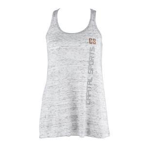 Trainings-Top für Frauen Size L Weiß marmoriert Weiß | L