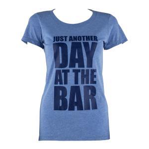 Trainings-T-Shirt für Frauen Size M Blau Tricolor Blau | M