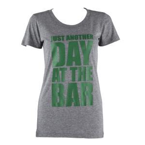 Trainings-T-Shirt für Frauen Size S Grau meliert Grau | S