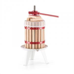 Berrymore L Obstpresse Saftpresse 6l mechanisch Ratsche Stahl Holz