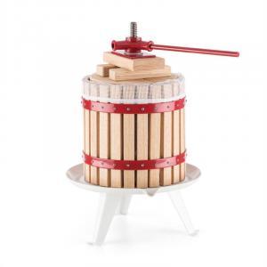 Berrymore XL Obstpresse Saftpresse 12l mechanisch Ratsche Stahl Holz