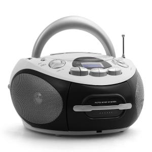 AHB-0388 mobile Boombox CD USB MP3 UKW/MW Kassette