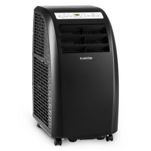 Metrobreeze Rom Klimaanlage 10000 BTU Klasse A+ Fernbedienung schwarz Schwarz
