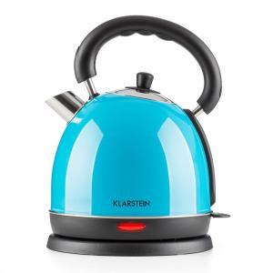 Teatime Wasserkocher Teekessel 1850 W 1,8 l Edelstahl blau Blau