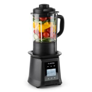 Herakles Heat Suppenmixer 1300W/1,7PS 900W 1,75l BPA-frei Glas schwarz Schwarz