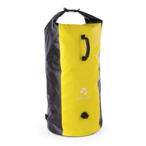 Quintono 100 Trekking-Rucksack Seesack 100 Liter wasserdicht schwarz/ge Gelb