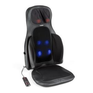Vanuato Massage-Sitzauflage Shiatsu-Massage 3D Massage schwarz Schwarz