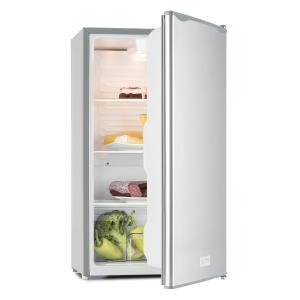 Beerkeeper Kühlschrank 92l Energieeffizienzklasse A+ 3 Ebenen silber Silber