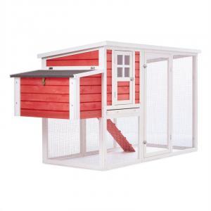 Villa Ronaldo Hühnerstall Hühnerhaus 2 Legeplätze 76x104x198 cm Holz
