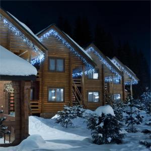 Dreamhouse Classic LED-Lichterkette Eiszapfen 24m 480 LEDs kaltweiß