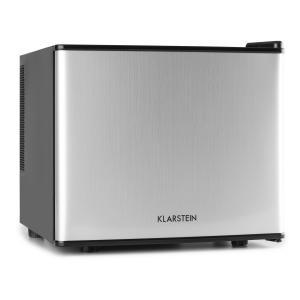 Geheimversteck Minibar Minikühlschrank 17l 50W A+ silber Silber