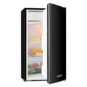 Alleinversorger Kühlschrank 90l Klasse A+ 2 Ebenen Eisfach schwarz Schwarz
