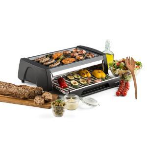 Doppeldecker 2-in-1-BBQ-Grill-Ofen Antihaftbeschichtung Edelstahl