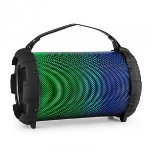 Dr. Bang LED 2.1-BT-Lautsprecher 20W RMS USB micro SD AUX Akku LED schwarz