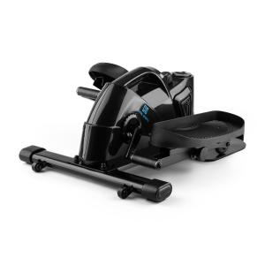 Minioval Mini Bike Heimtrainer Stepper Elliptical Bike schwarz Schwarz