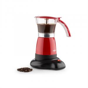 Funpresso Espressokocher elektrisch 6 Tassen 300 ml rot Rot