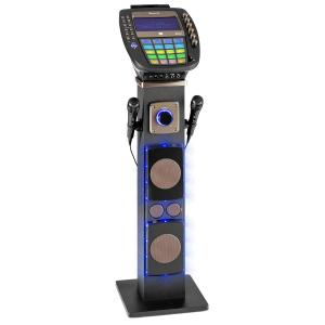 "KaraBig Karaokemaschine Bluetooth LED 7"" TFT CD USB Build-In Lautsprecher"