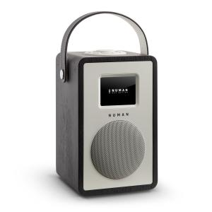 Mini Two Design-Internetradio WiFi DLNA Bluetooth DAB/DAB+ UKW Eiche
