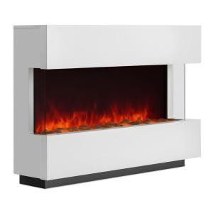 Studio-1 Elektrischer Kamin LED-Flammensimulation 750/1500 W 40m² weiß