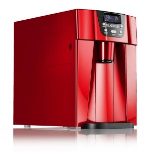 Ice Volcano 2G Eismaschine LED 12kg je 24h 2l 6-12min rot Rot