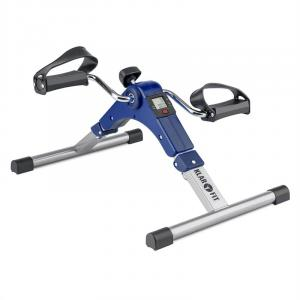 Spinmin Pro Mini Bike Arm- und Bein-Pedaltrainer Display faltbar blau Blau