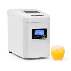Lannister Eiswürfelbereiter Eiswürfelmaschine 10 kg / 24 h weiss Weiß