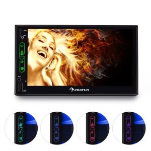 "MVD-470 Doppel-DIN-Moniceiver 18 cm (7"")-Touchscreen Bluetooth USB microSD"