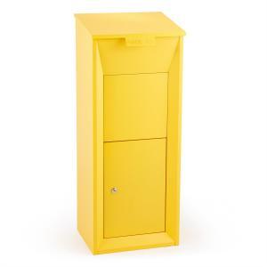 Postbutler Paketbox Paketpostkasten Standbriefkasten gelb