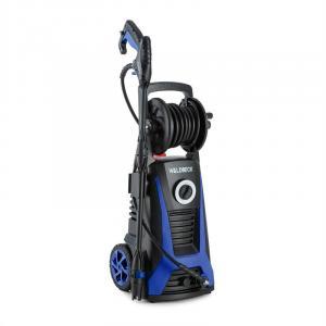 Saubermann Hochdruckreiniger Kombigerät Schlauchtrommel schwarz/blau