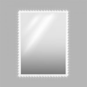 Goldmund LED Kristall-Wandspiegel 80x60 Infrarotsensor 30 LED/Meter
