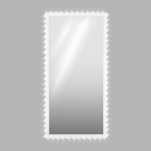 Goldmund LED Kristall-Wandspiegel 140x70 Infrarotsensor 30 LED/Meter