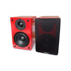 BS4BL HiFi-Regallautsprecher 60W rot Rot