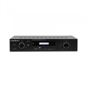 MAD-1400 BT HiFi-Stereo-Verstärker Bluetooth USB SD MP3 AUX UKW Schwarz