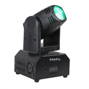 LMH250-RC Movinghead 4-in-1 10W CREE LED RGBW DMX LED inkl. Fernbedienung