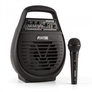 ST032 mobile PA-Anlage 50W Bluetooth MP3 USB microSD Akku inkl. Mikrofon